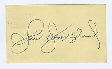 Paul Dizzy Trout   Autograph  Govt PC  Signed  Auto