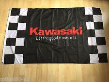New Racing Banner Flags 3x5ft 90x150cm Flag For Kawasaki Flag Free Shipping