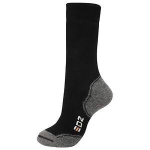 EDZ Merino Wool Thermal Boot Socks Standard Length (Black)