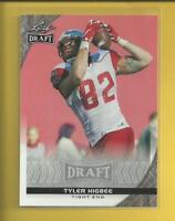 Tyler Higbee RC 2016 Leaf Draft ROOKIE Card # 88 Los Angeles Rams Football NFL