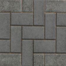 50 X Marshalls Standard Concrete Block Paving Charcoal 200mm X 100mm X 50mm