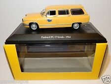 NOREV PANHARD PL17 PL 17 BREAK 1964 POSTES POSTE PTT 1/43 in luxe box