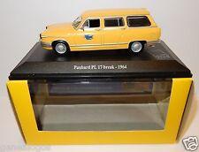 NOREV PANHARD PL17 PL 17 BREAK 1964 POSTES POSTE PTT 1/43 in luxe box