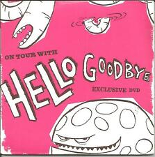 HELLOGOODBYE Hello Goodbye ON TOUR WITH PROMO DVD VIDEO Candid INTERVIEW & LIVE