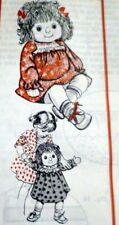 "GREAT VTG 1960s 20"" DOLL & CLOTHING SEWING PATTERN UNCUT"