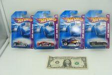 Hot Wheels 2008 Mainline - Set of 4 Team:Ford Racing -Roadster-Cobra-F150-GTX1