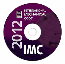 2012 International Mechanical Code-IMC-Code Council Searchable PDF CD eBook
