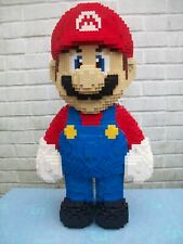 Custom Built Large Lego Super Mario Sculpture with Instructions