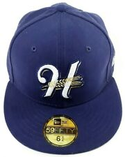 New Era 59Fifty Hat Helena Brewers Minor League Baseball Fitted Cap Size 6.75