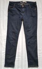 LADIES Size 14 Blue Slim Leg Denim Jeans