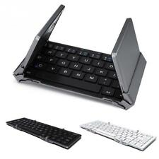 Travel Metal Foldable Wireless Bluetooth Keyboard Portable Tablet Keypad Gadget