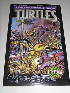 TEENAGE MUTANT NINJA TURTLES 38 Kevin Eastman Peter Laird TMNT Uncirculated 1991