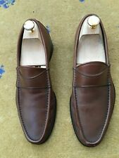 Gucci Mens Shoes Brown Leather Loafer UK 6 US 7 EU 40
