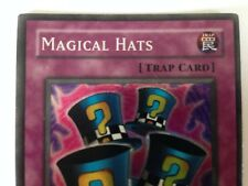 YuGiOh Magical Hats PSV-003 First Edition Super Rare Mint Condition