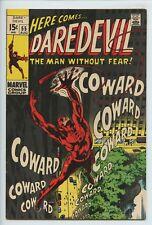 1969 MARVEL DAREDEVIL #55 MR. FEAR APPEARANCE KAREN PAGE  VF/NM 9.0   S2