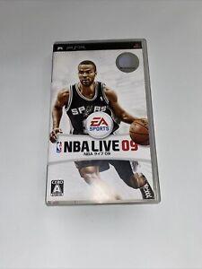 NBA Live 09 PlayStation Portable Japan Version