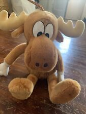 Vintage 1991 Bullwinkle Plush- Adventures of Rocky and Bullwinkle