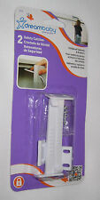 Safety Catches Latches Baby New (2) Childproof Cabinets Drawers