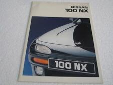 Prospekt Nissan 100 NX von 1994