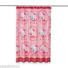 Sanrio Hello Kitty Fabric Shower Curtain HN010K