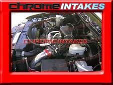 96 97 98 99 00 01-05 CHEVY S10 BLAZER/SONOMA/JIMMY/HOMBRE 4.3L V6 AIR INTAKE RED