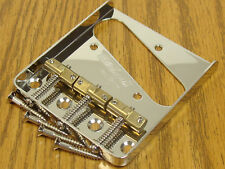 NEW Wilkinson Telecaster Compensating BRIDGE for Fender Tele Nickel TB-5129-001