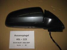 Audi A4 8E B6 B7 Aussenspiegel Spiegel Mirror Rechts Right Seitenspiegel ASL115
