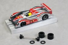 Ho Slot Car Parts - Mega-G & Mega-G+ Hop-Up Kit O-Ring Front Set & Super Tires