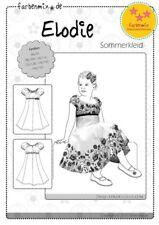 Farbenmix Schnittmuster Elodie (Sommerkleid Gr.86-152)