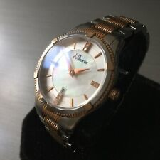 Ladies Du Maurier Watch Swiss REBECCA Diamonds Pearl Dial 057/300 LE Genuine