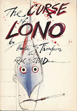 The Curse of Lono Hunter S Thompson Ralph Steadman Vtg 1st Edition Printing 1983