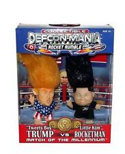 Rocket Rumble DEFCON MANIA Tweety Boy President Trump vs Rocket Man-Little Kim