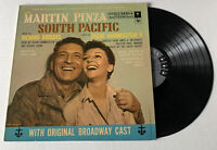 Vintage South Pacific Original Broadway Music LP Record Rogers & Hammerstein