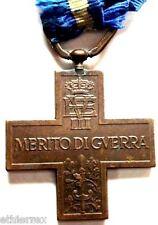 REGNO D'ITALIA (Croce al MERITO,con nastrino)