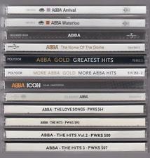 CD Sammlung Abba ( 12 CDS )