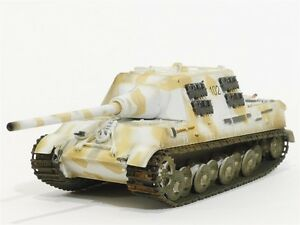 Easy Model Military Vehicle 36115 Jagdtiger Tank WWII Collectible 1:72 Scale