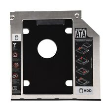 SATA 2nd Hard Disk Drive HDD Caddy Adapter for ThinkPad T400 T410 T500 R400 SI