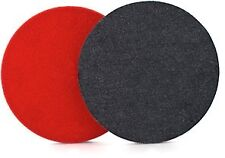 SERIOUS PERFORMANCE 80mm DENIM AGGRESIVE ORANGE PEEL REMOVAL PAD