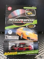 Action Texaco Need For Speed Porsche CD Game W/ #28 Ricky Rudd Car 1:64 44-77