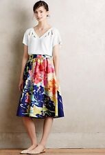 Anthropologie Rare Fauvism Midi Skirt by Troubadour, Size 8, NWOT