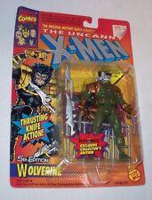 WOLVERINE Marvel Toy Biz Super Heroes Figure 1993 New Card MOVIE X-Men X Men 5th