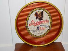 Vintage Iroquois Indian Head Beer Metal Tray
