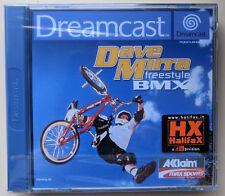DAVE MIRRA FREESTYLE BMX - SEGA DREAMCAST GAME - PAL - BRAND NEW SEALED