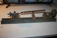 "Vintage cast iron 20"" bench mount  mini lathe"
