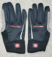CASTELLI GORE WINDSTOPPER WOMENS Large CYCLING GLOVES