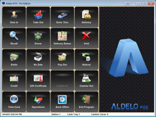 Aldelo Pos Pro Software Restaurant Bar Pizza Pos With Merchant Acct 25 010