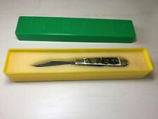 MINT Puma 620 Pony Two Blade Folding Pocket Knife Stag Handle with Box - 1977
