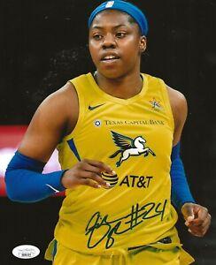 Arike Ogunbowale Notre Dame signed Dallas Wings 8x10 photo autographed JSA