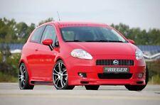 Rieger Frontspoilerlippe für Fiat Grande Punto 199 nicht EVO