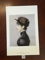 Portrait of Mademoiselle Suzette Lemaire -Edouard Manet Vintage Art Repro Print
